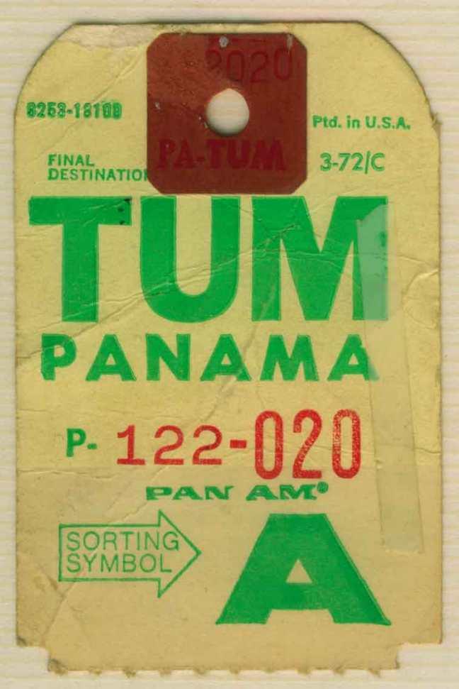 Baggage-Tag-Panama